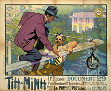 Louis Feuillade Tih Minh 1918 French movie poster