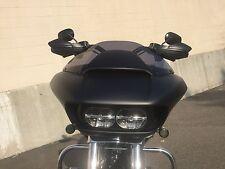 Matte Black Hand guards for Harley Davidson models FLTR FXD FXR FXS XL FLHT FLS