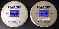 l'Occitane Lavender Daily Body Moisteriser And Relax Massage gel 2 X 200ml