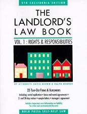 The Landlord's Law Book: Rights and Responsibilities: California Edition 5th ed