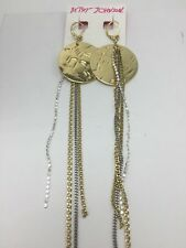 $45 Betsey Johnson Jewelry THROWBACK TO VINTAGE BJ DISCO EARRINGS V13
