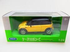 30104 %7c Welly 21540 Mini Cooper gelb Die-Cast Modellauto 1:24 NEU in OVP