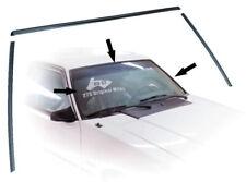 1985-86 Mustang GT Rear Quarter Body Molding Moulding Bumper Panel Passenger RH