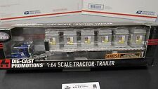 DCP #30637 Store to Door 9200 semi cab truck Crate Load flat bed trailer 1:64/