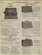 1923 Paper Ad Pauwen Portable Tool Chest Box Diamond Edge Shapleigh