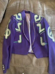 Nathan Turk Rhinestone Jacket Nudie Like