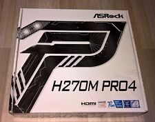 ASROCK h270m pro4 m.2/HDMI/dvi/vga/gl/usb3.0 mATX Scheda madre Socket 1151 OVP NUOVO