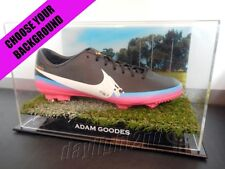 ✺Signed✺ ADAM GOODES Football Boot PROOF COA Sydney Swans 2018 Guernsey