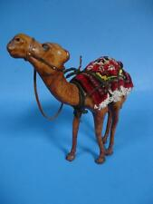 Leather Camel w/ Persian Rug Saddle 13 inch - Unique & Handmade ?