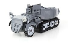 German Half Track Sd.Kfz 250 WW2 Complete Custom Set made w/ real LEGO®
