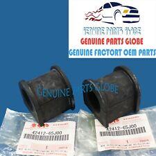 GENUINE SUZUKI 04-08 GRAND VITARA FRONT STABILIZER BAR BUSHING SET 42412-65J00