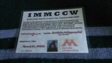 MINISTRY OF MAGIC CARRY CONCEALED WAND PERMIT (See Description)