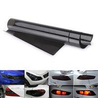 30cm x 120cm Light Smoke Black Tint Film Headlights,Tail lights Car Vinyl Wrap