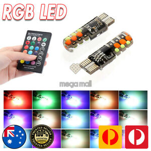 Multi Color LED Parkers with Remote Control for Mitsubishi Lancer Mirage