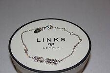 GENUINE LINKS OF LONDON STERLING SILVER SWEETIE XS 20CM  BRACELET - 5010.3219