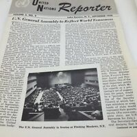 Vintage United Nations Reporter Lake Success NY Sept 1950