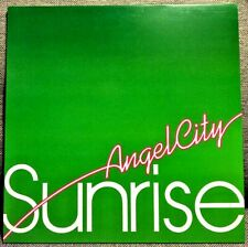 """ANGEL CITY SUNRISE(4 MIXES) 12"""" MINISTRY OF SOUND DATA84P1 NEW Trance, Euro Hous"""