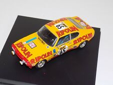 1/43 Trofeu Ford Capri 2600 RS 1972 Tour Auto G.Larrousse / J.Rives 65  TRF 2314