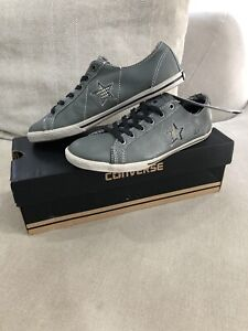 New CONVERSE All Star One Star Mens 5.5 US Womens 7 Leather Shoes Sneakers [353]