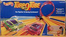 Vintage Hot Wheels Turbo Tube Raceway Set 1991 Mattel RARE