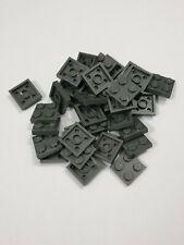 Lego dark bluish gray plate 2x2(3022),25 parts