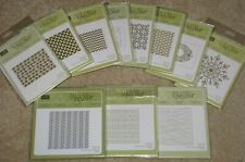 Retired Stampin' Up Textured Impressions Embossing Folders- new- you pick!