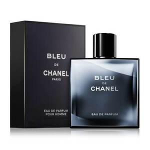 CHANEL Bleu 101ml/100 ML Eau De Parfum Spray Pour Homme Nuovo e Inscatolato