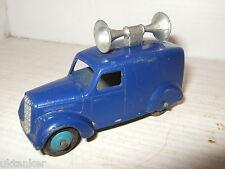 Vintage Dinky- Meccano Rare Type 28 séries Van avec Annonce Publique Parlant