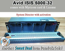 Avid ISIS 5500-32 Empty Chassis with System Director & License Activation-Tested