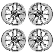 "20"" FORD MUSTANG GT PVD CHROME WHEELS RIMS FACTORY OEM 2017 2018 SET 4 10039"