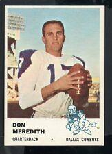 1961 Fleer Football  Card #41 Don Meredith-Dallas Cowboys Rookie Card