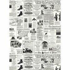 Vintage American Newspaper from the 1900's on Sure Strip Wallpaper KW7620