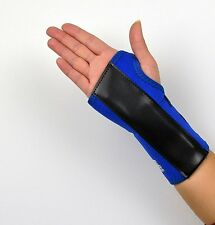 Wrist Support BLUE brace splint for carpal tunnel & RSI Injury NHS use