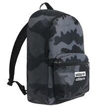 Adidas Unisex CAMO Classic Backpack Bags Black School Casual Laptop Bag ED8654