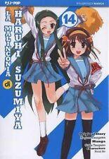 fumetto J-POP MANGA - LA MALINCONIA DI HARUHI SUZUMIYA VOLUME 14
