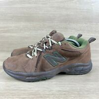 New Balance Cross Training Shoes Brown Green Suede 608 v3 MX608V3O Mens Size 11