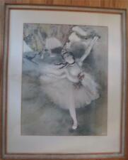 Edgar Degas Vintage Soft Ground Print of La Danseuse (The Ballerina)