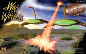 Pegasus 9202 War of the Worlds Martian War Machines Attack Copper Plated Model