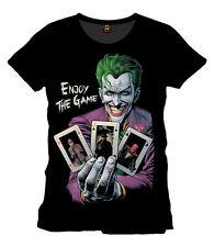 DC bequem sitzende Herren-T-Shirts aus Baumwolle mit Motiv