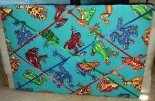 Frog Pattern Bulletin Board
