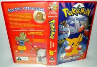 Pokemon, Fighting Tournament- 3 Episodes- VHS Video Tape & Case, Collectable VHS