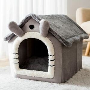 Removable Cat Bed House Kennel Nest Pet Nest Cat Tent Dog Bed Warm Dog House