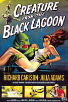 Creature From The Black Lagoon 1954 Style-A Universal MONSTER Movie Poster 27x40