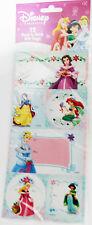 Disney Belle Snow White Ariel Jasmine Cinderella Aurora Christmas Gift Tags