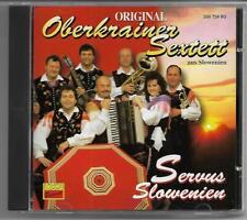 Original Oberkrainer Sextett - Servus Slowenien - CD 1994 KOCH
