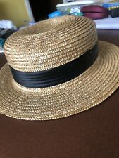 VINTAGE STRAW BOATER Women Kids Spares And Repairs
