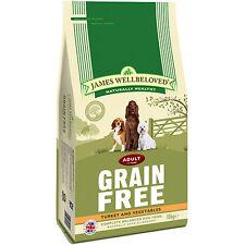James Wellbeloved Adult Grain Free Turkey & Vegetables Gluten Free Dog Food 10kg