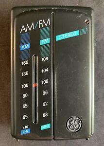 General Electric GE 7-1627A Portable AM/FM Radio