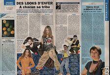 Coupure de presse Clipping 1996 Des Looks d'Enfer à chacun sa tribu (1 page 1/3)