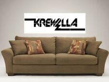 """KREWELLA MOSAIC TILE 48"""" BY 16"""" INCH WALL POSTER HOUSE EDM YASMINE YOUSAF"""